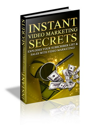 Product picture Instsnt Video Marketing secrets-Top Marketing Secrets